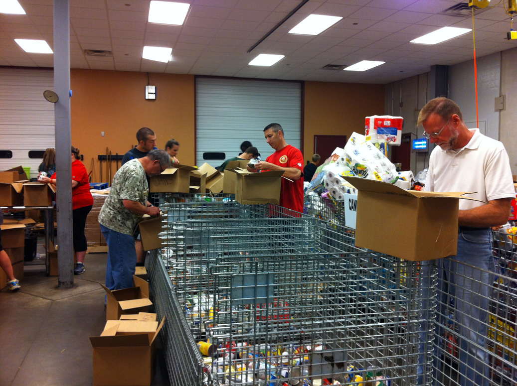 Tulsa Food Bank Community Service Project