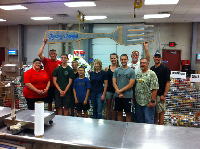 Tulsa Food Bank - June 2014